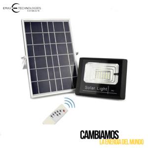 Reflector Led Solar de Calle Para Alumbrado Público de 120 Watts NWN-RBK-120W